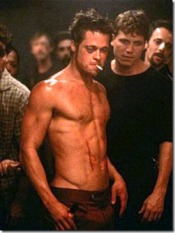 Brad Pitt9 Fight Club